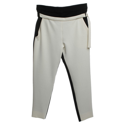 Proenza Schouler trousers in black and white