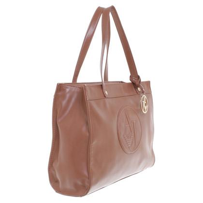 Armani Jeans Handtasche in Braun
