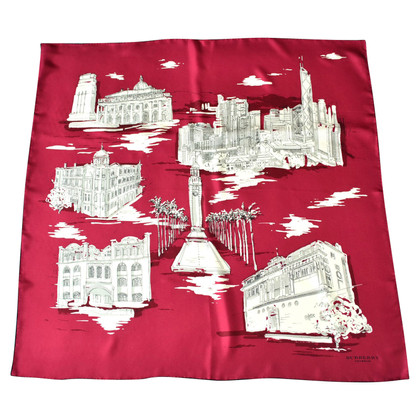 Burberry Prorsum Silk scarf with pattern