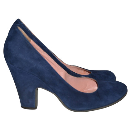 L'autre Chose Wildleder-Pumps