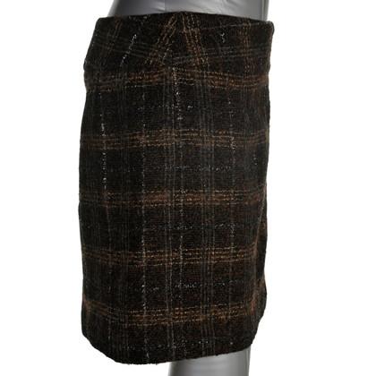 Dolce & Gabbana Karierter Woll-Rock