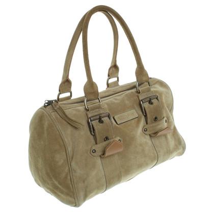 "Longchamp Wildleder-Handtasche ""Kate Moss"""