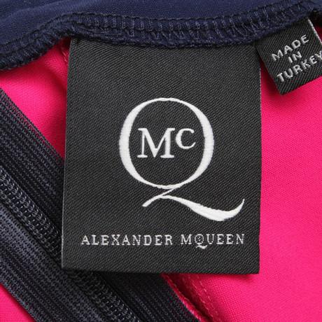 Billig Verkauf Bester Platz Am Billigsten Alexander McQueen Rock in Dunkelblau/Pink Andere Farbe Uo3rMF