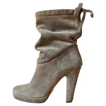 Prada Gray boots
