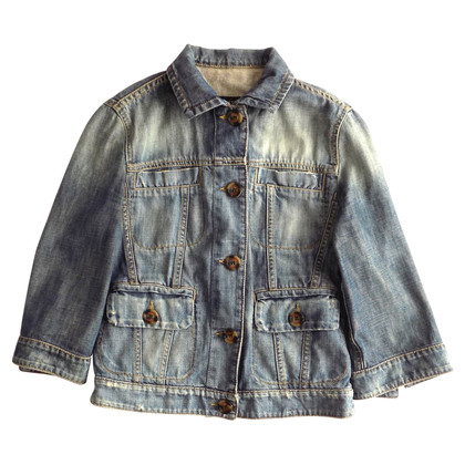 Max Mara Denim jacket in used look