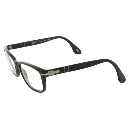 Persol Mattschwarze Brille
