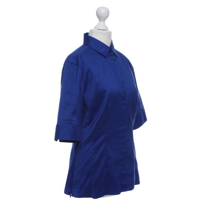 Hugo Boss Bluse in Blau