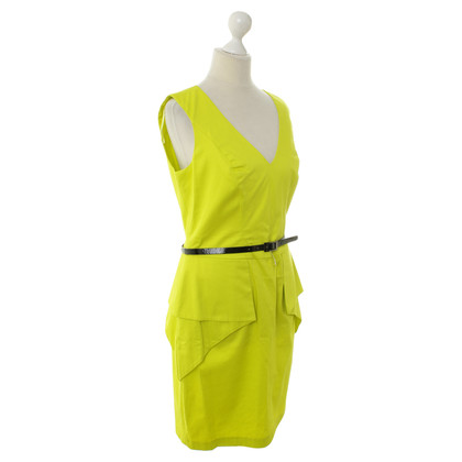 Vince Camuto Dress in neon green