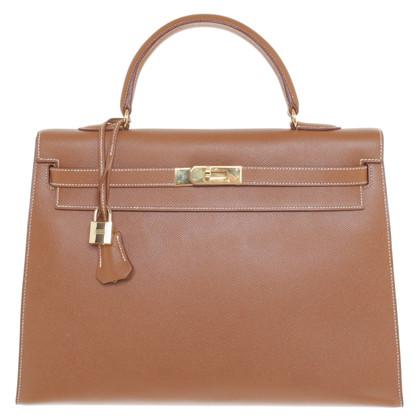 """Hermès """"Kelly Bag 35 Togo en cuir"""""""