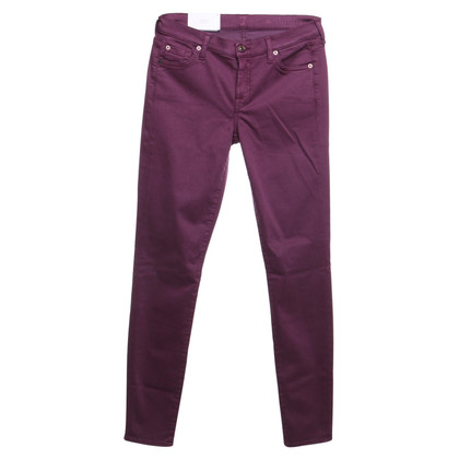 7 For All Mankind Jeans in paars