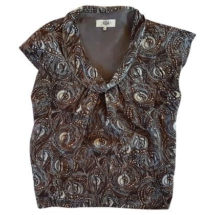 Tibi Silk top with pattern