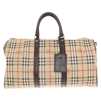 Burberry Travel bag with Nova-Check pattern