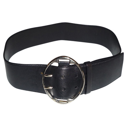 Prada LEATHER BLACK BELT BY PRADA