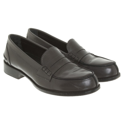 Jil Sander Loafer in Dark Grey