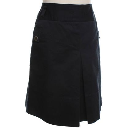 Hobbs skirt in dark blue