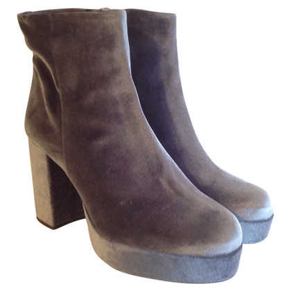 Kurt Geiger Ankle boots in velvet look