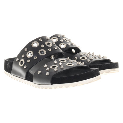 Sandro Sandals in black