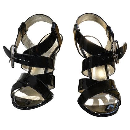 Dolce & Gabbana new patent leather sandals