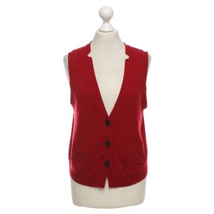j park Cashmere vest in red