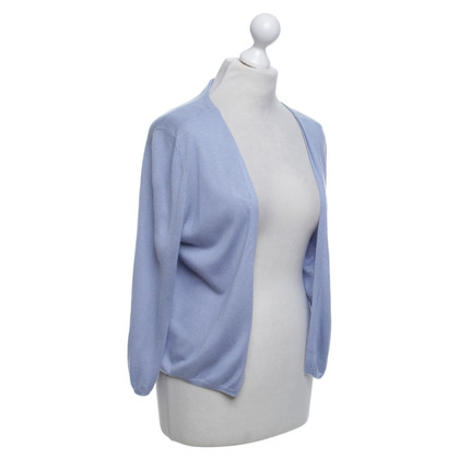 René Lezard Cardigan in light blue