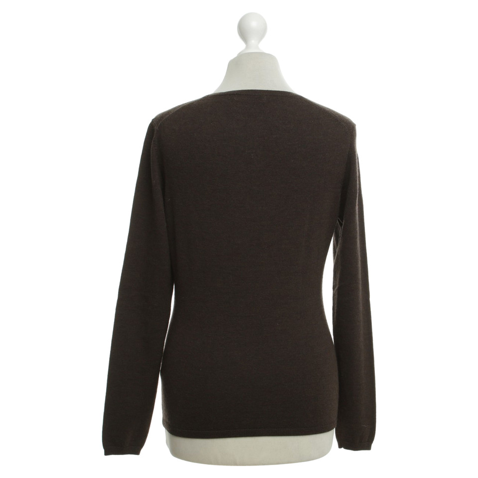 Repeat Cashmere Sweater in dark brown - Buy Second hand Repeat ...