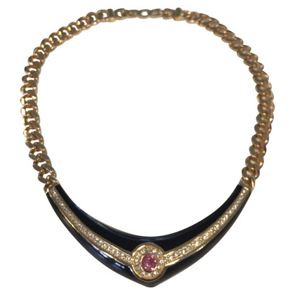 Christian Dior Vintage-Collier mit Steinen