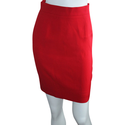 Moschino Cheap and Chic Pencil skirt in red