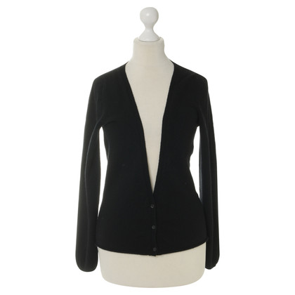 Jil Sander Cardigan in nero