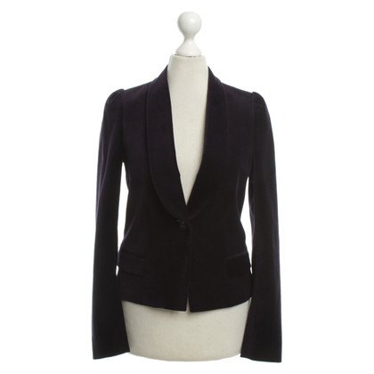 Filippa K Purple Blazer Velvet