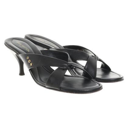 Louis Vuitton Sandalen in zwart