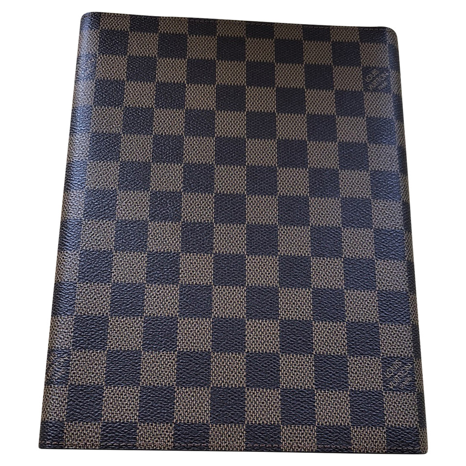 Louis Vuitton Dossier de documents de Damier Ebene Canvas