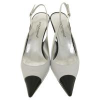 Dolce & Gabbana Slingpumps in black / white