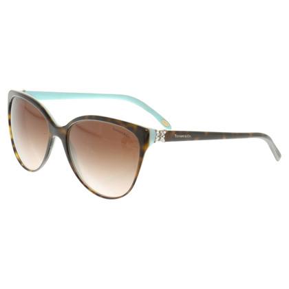 Tiffany & Co. Sonnenbrille mit Schmucksteinen