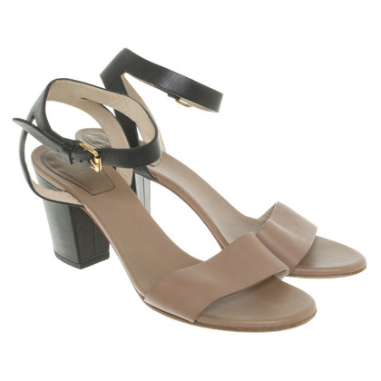 Chloé Sandales en brun / noir