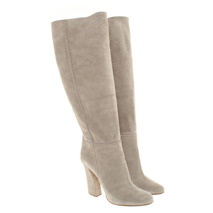 Casadei Wild leather ankle boots in grey