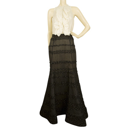 Oscar de la Renta Dress in black and white