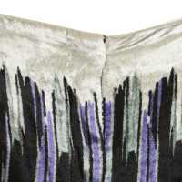 Etro trousers with ethno pattern