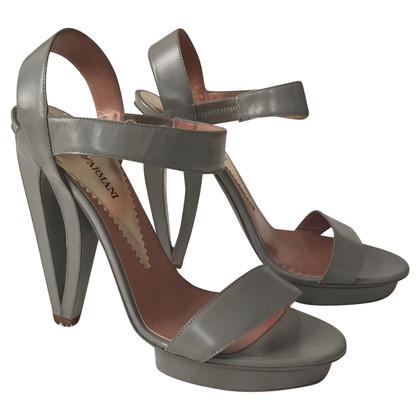 Armani Graue Sandaletten