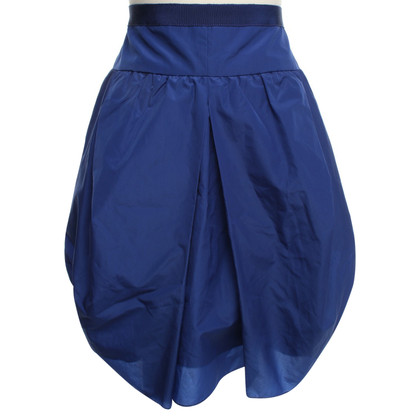 Carven Issued skirt in blue