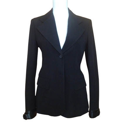 Prada Blazer with leather inserts