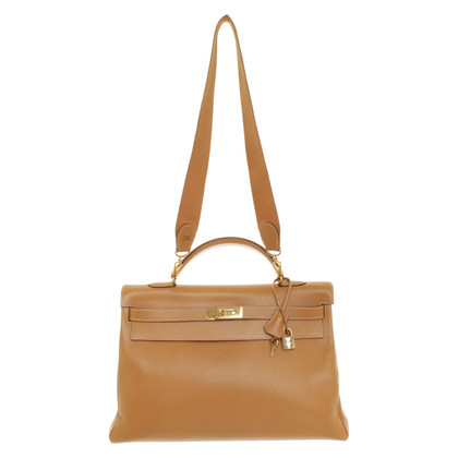 Hermès '' Kelly Bag 40 Clémence leather '