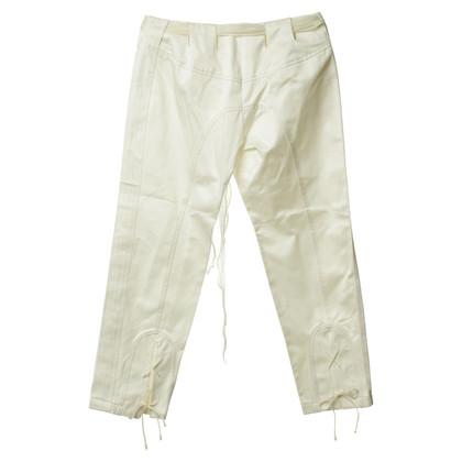 Ermanno Scervino Pantalone Capri in crema