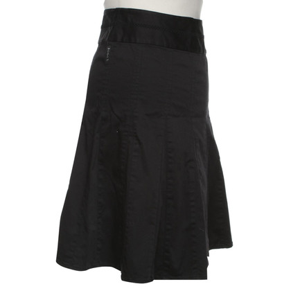 Armani Jeans skirt with godet folds