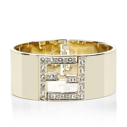 Fendi De armband van de Fendista in goud