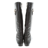 Tory Burch Boots in dark brown