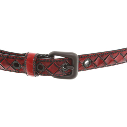 Bottega Veneta Belt in red