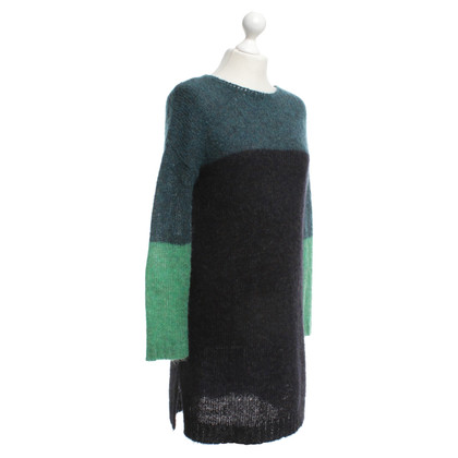 Hoss Intropia Knitted dress in tricolor
