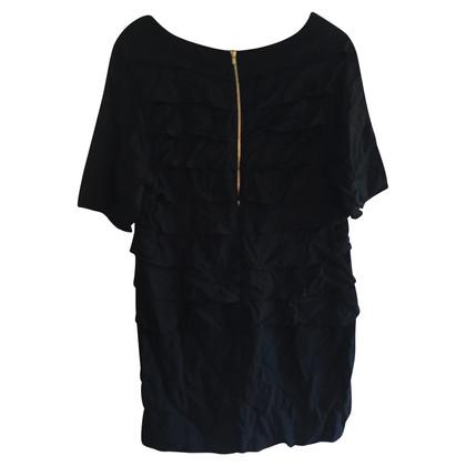 Sandro Short dress in black
