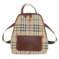 Burberry Backpack with Nova check pattern