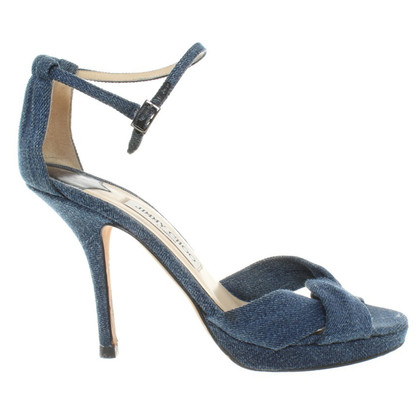 Jimmy Choo Sandals in jeans look